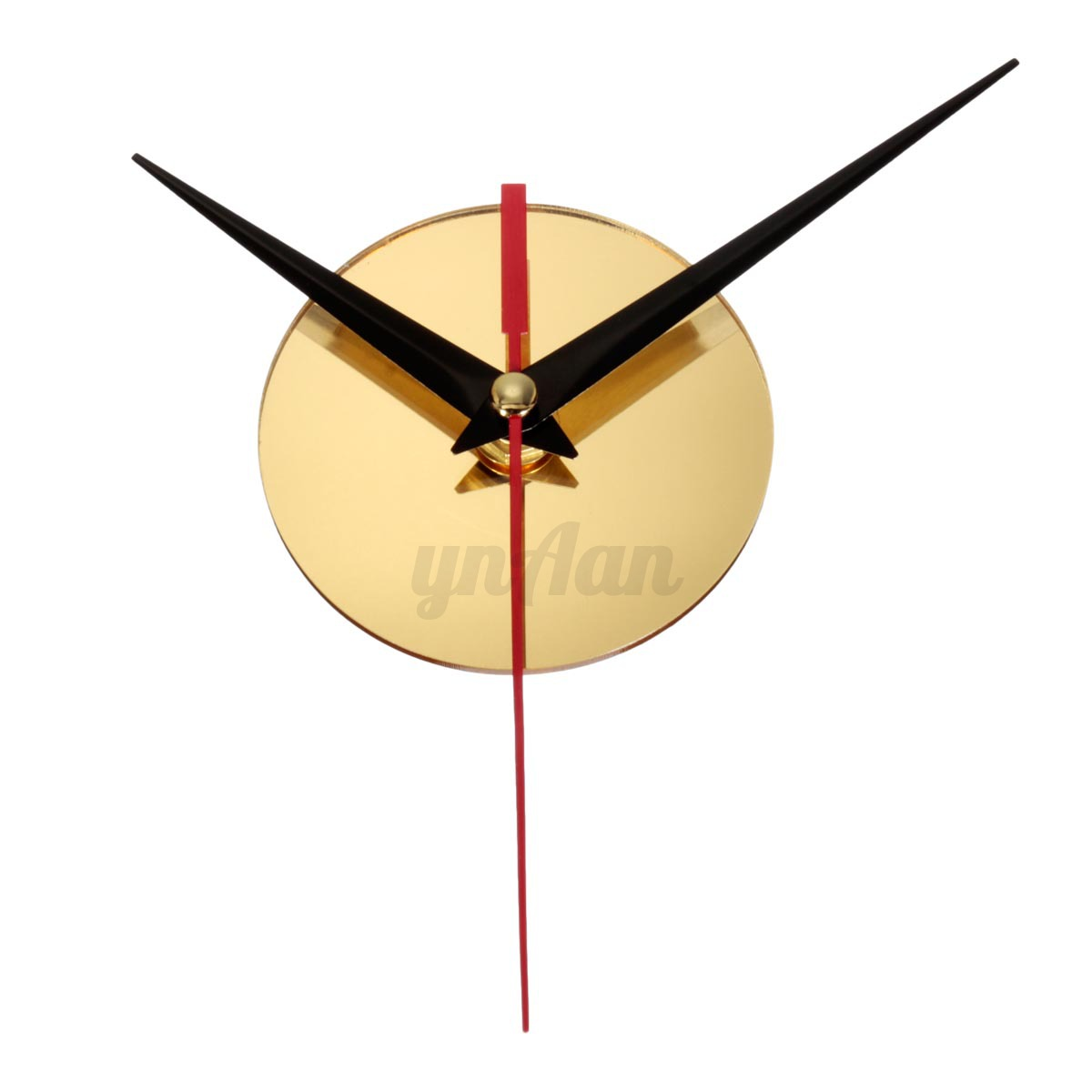 3d wall clock modern art diy watch wall clock home office for Diy 3d art