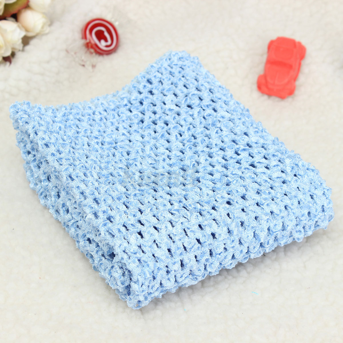 12 Crochet Tube TOP Elastic Headband Waistband Hair Band FOR Girls ...