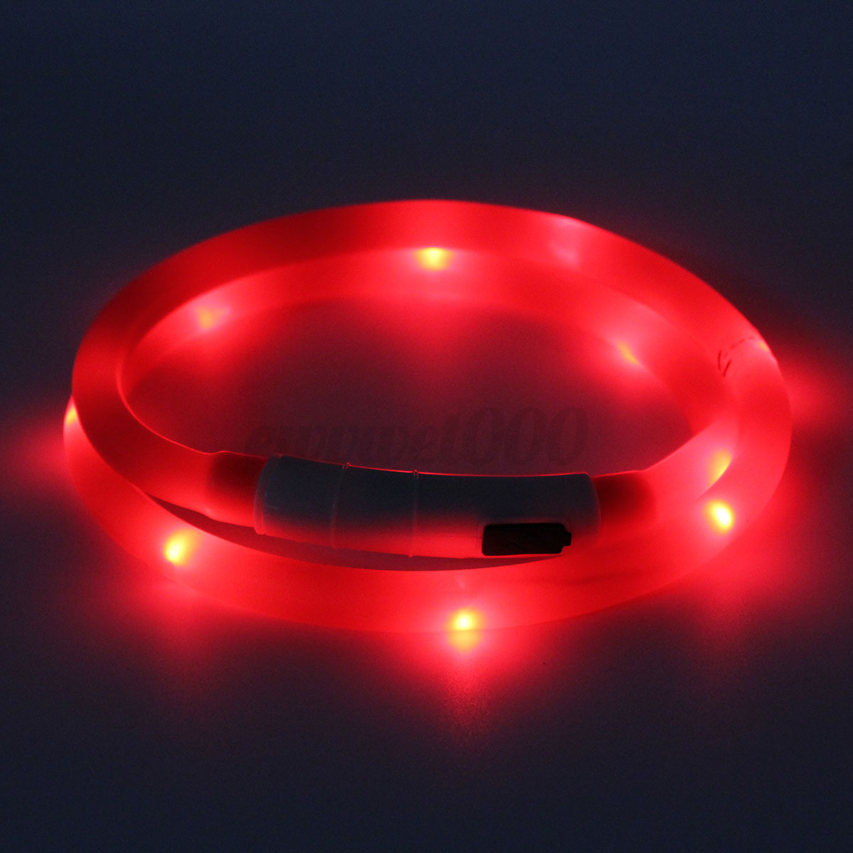 Waterproof Rechargeable Usb Led Flashing Light Band Belt
