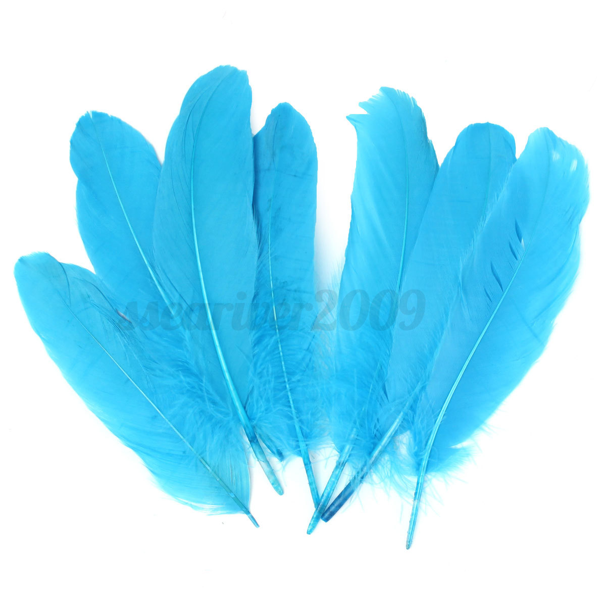 20Pcs 15-20cm Beautiful Artificial Goose Feathers For DIY Craft Jewelry Making