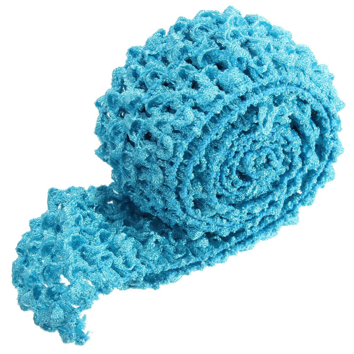 Crochet Elastic Hair Band : ... -Crochet-Tube-Top-Elastic-Waistband-HeadBand-Tutu-Hair-Band-Skirt-DIY