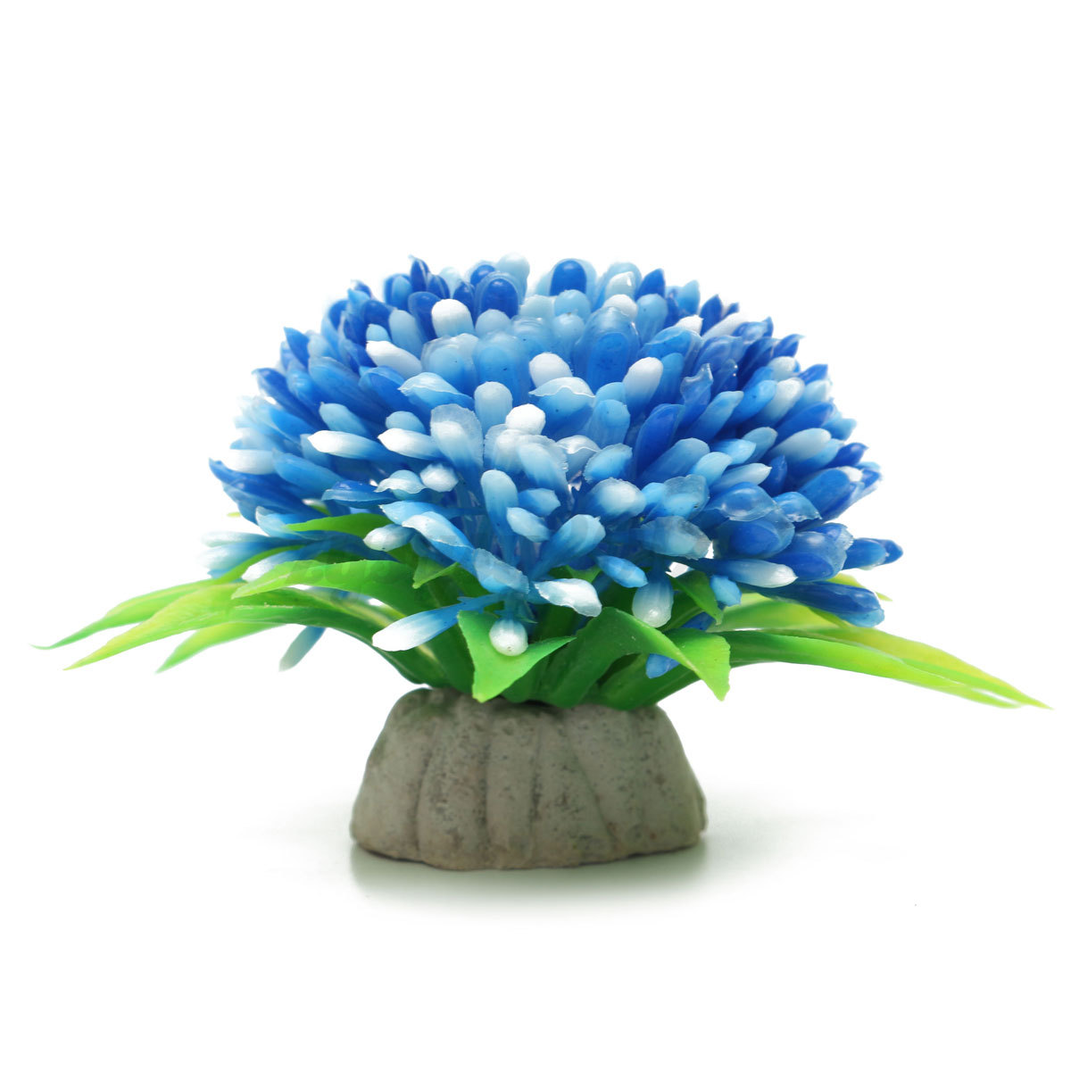 Plastic fish tank aquarium flowers grass decoration for Aquatic decoration