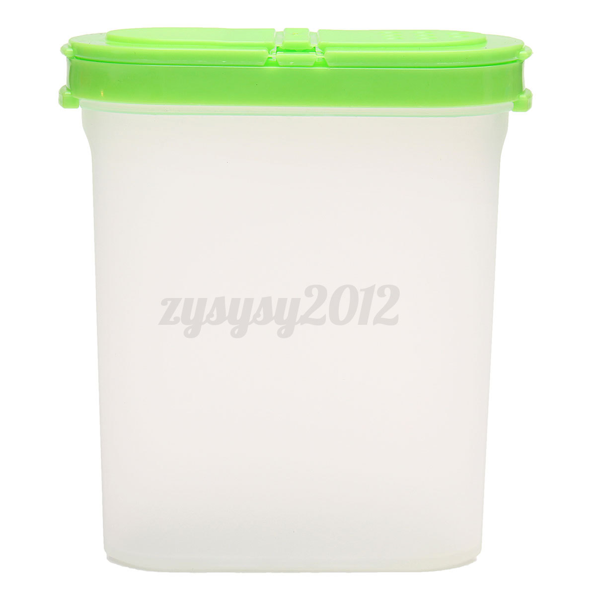 Plastic Kitchen Spice Jar Cereal Bean Food Container Storage Bottle With Lid Ebay