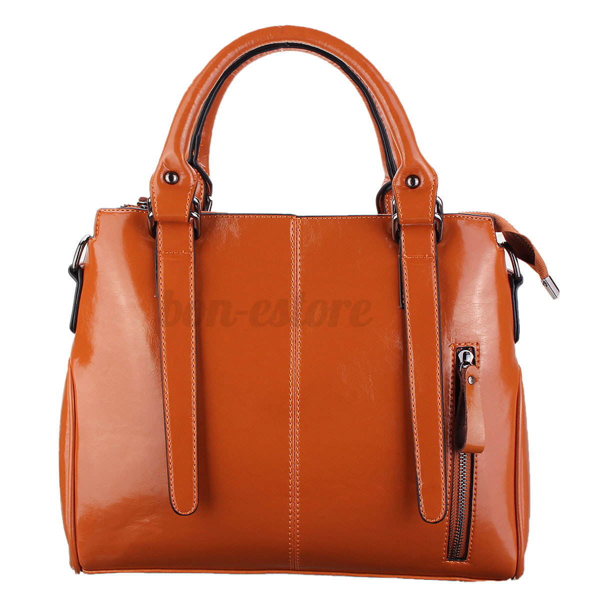 Women Leather Handbag Shoulder Bag Tote Messenger ...