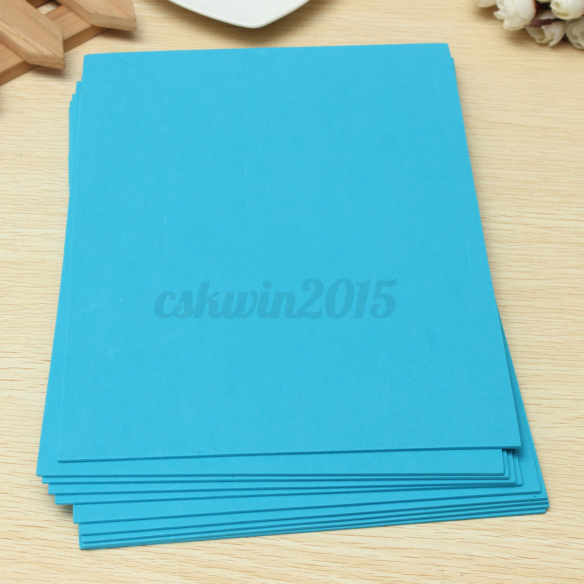 10Pcs EVA Foam Sheets A4 Handmade Paper Fun Funky Kids ...