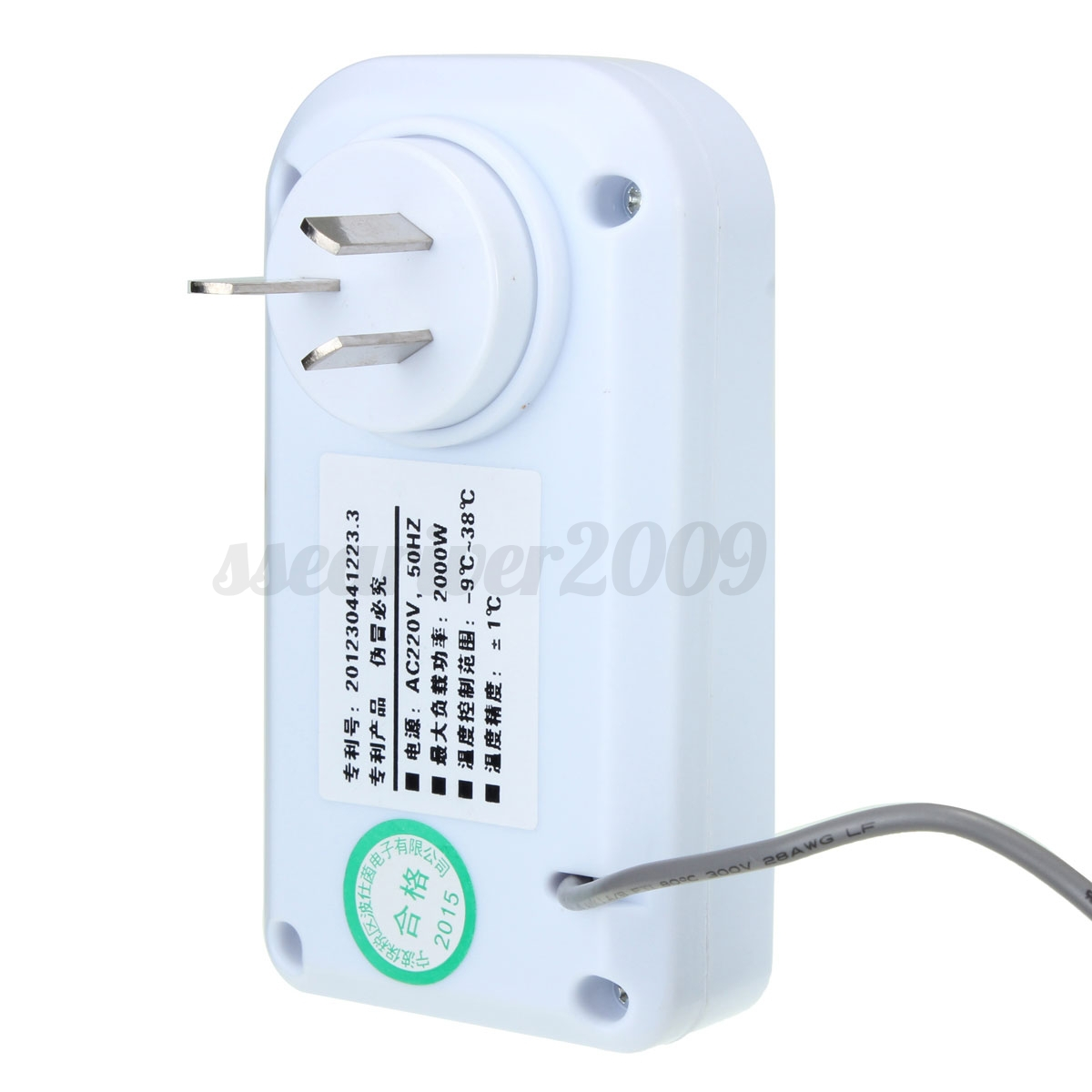 Refrigerator Thermostat Temperature Controller For Aquarium Greenhouse #26A581