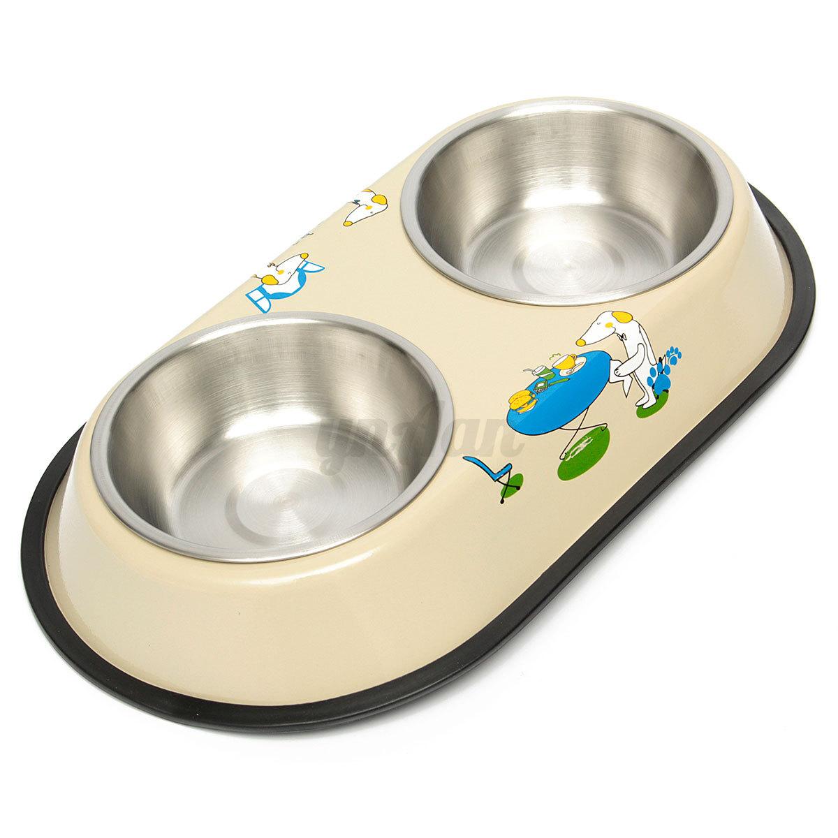 Dog And Cat Feeding Bowls