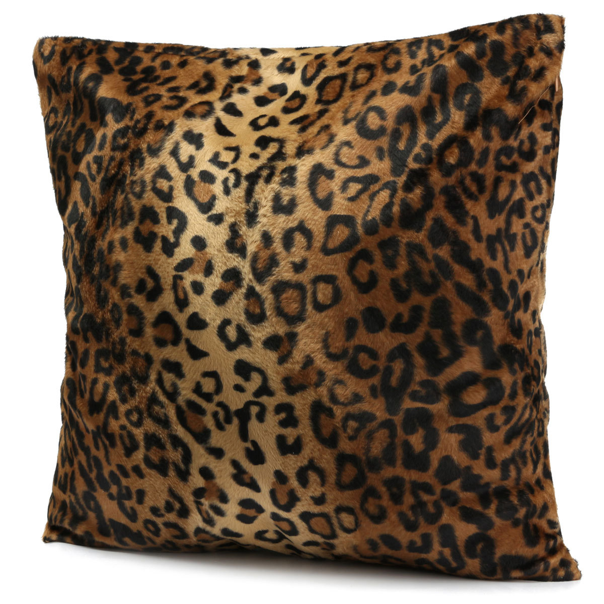 Animal Zebra Leopard Print Pillow Case Sofa Waist Throw Cushion Cover Home Decor