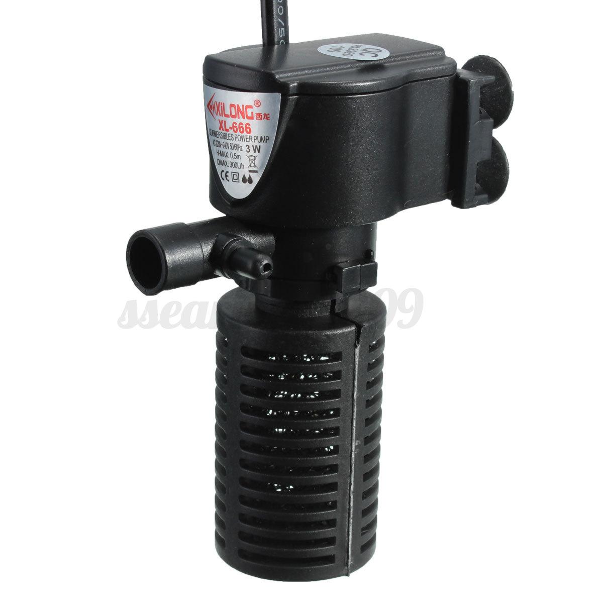 Aquarium Purifier Oxygen Pump Circulating Water Filter