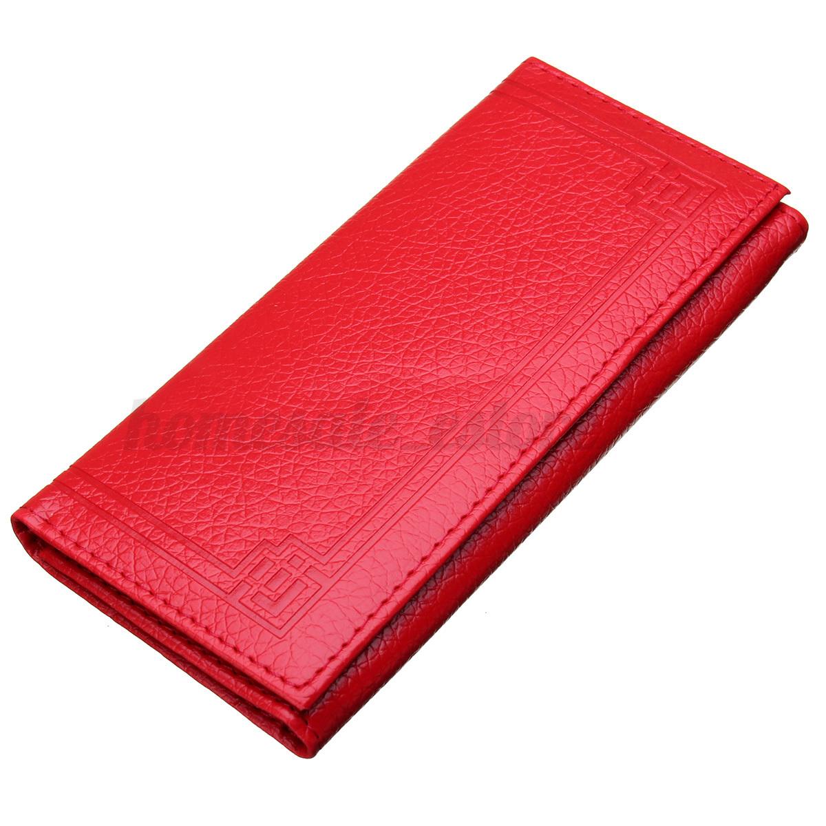Fashion Lady Leather Clutch Wallet Long Card Holder Case Purse Women Handbag HOT
