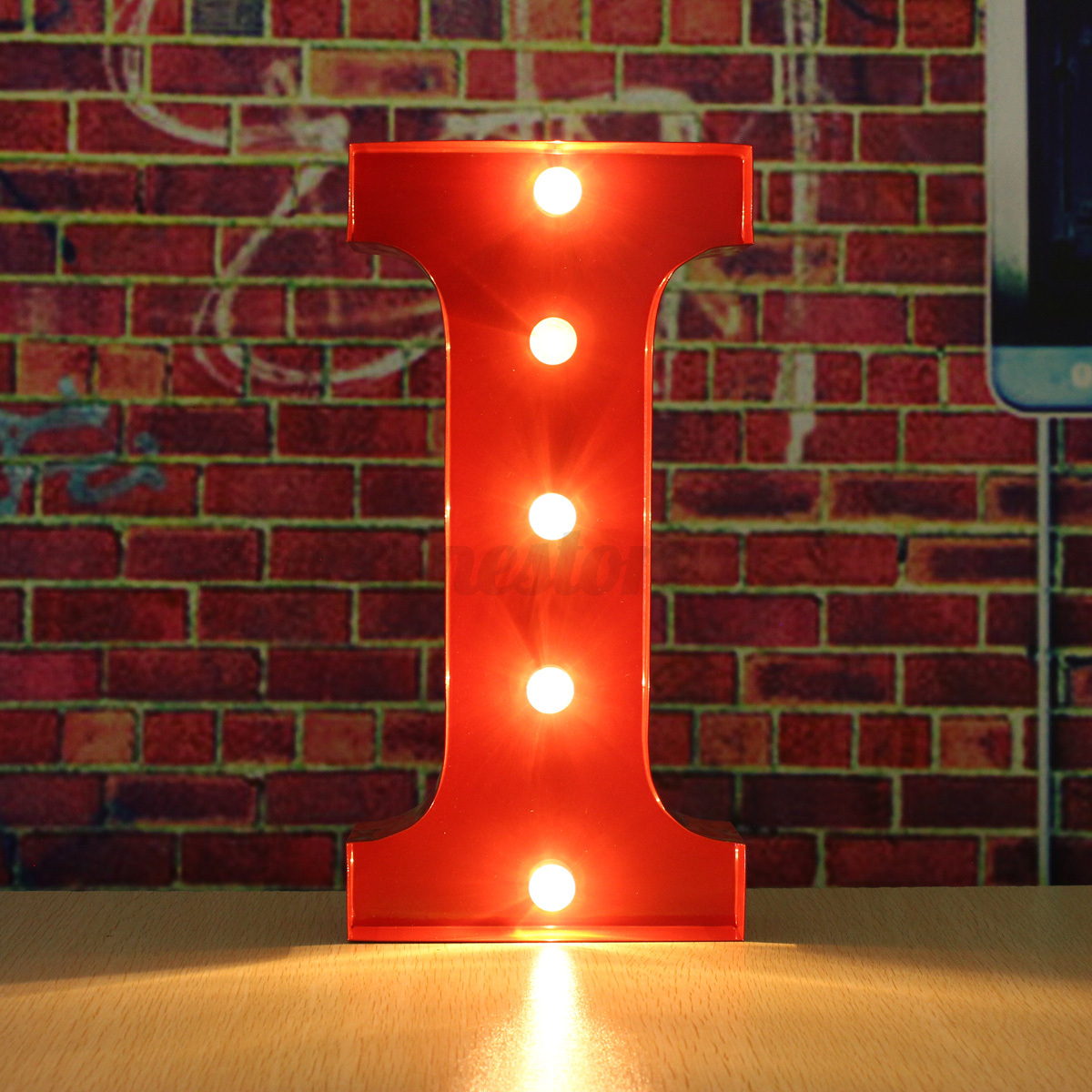 12quot led red marquee letter alphabet lights a to m circus With red light up marquee letters