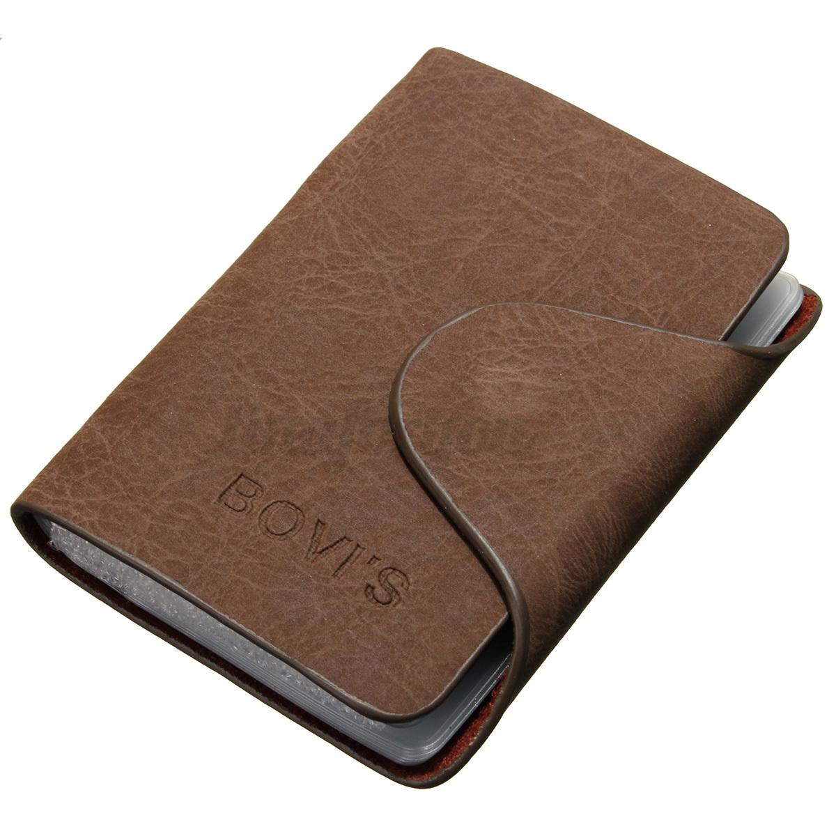 20 card slot mens wallet