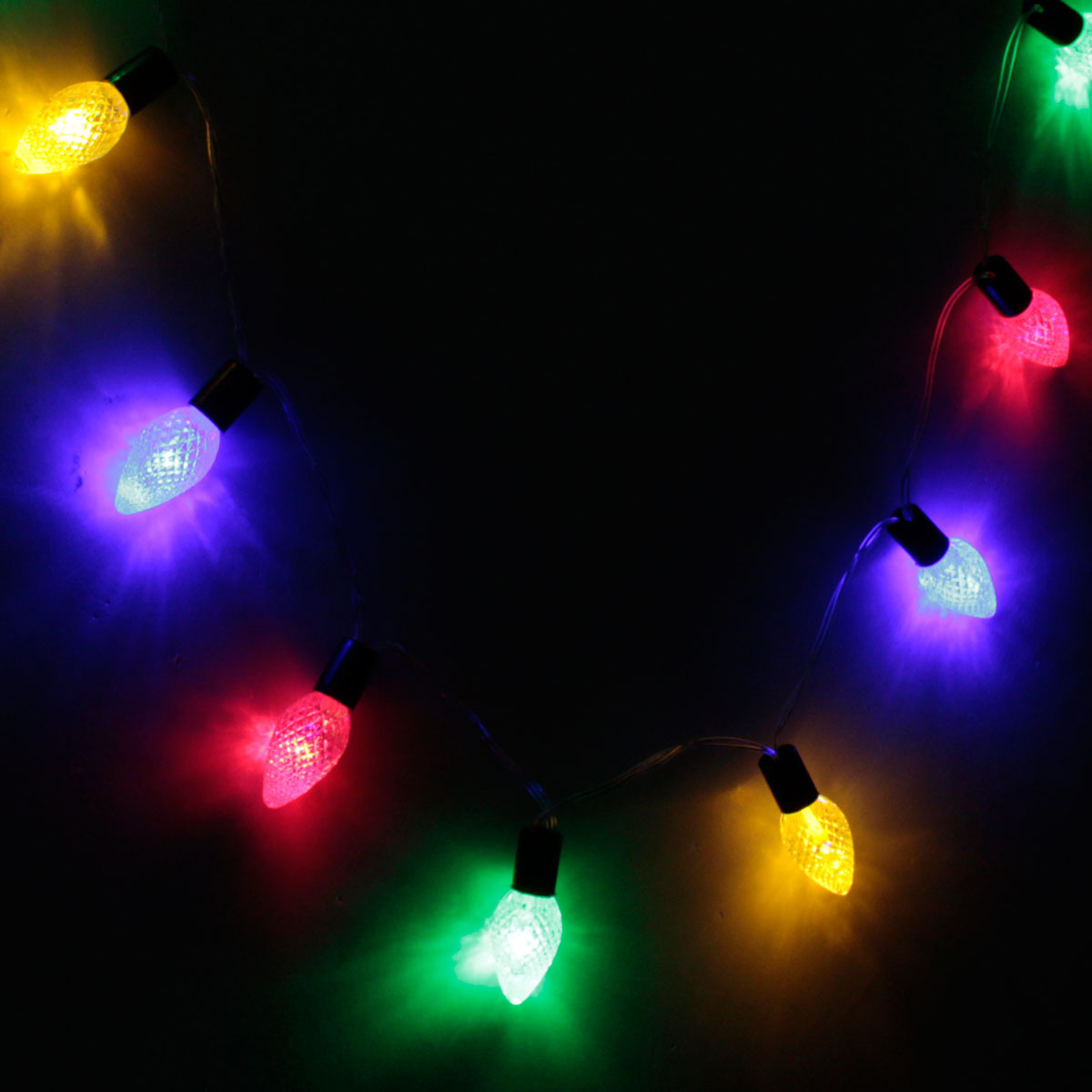 String Lights Shapes : 10 PCS Conical Shape String Lights Christmas Holiday Wedding Party Decoration eBay