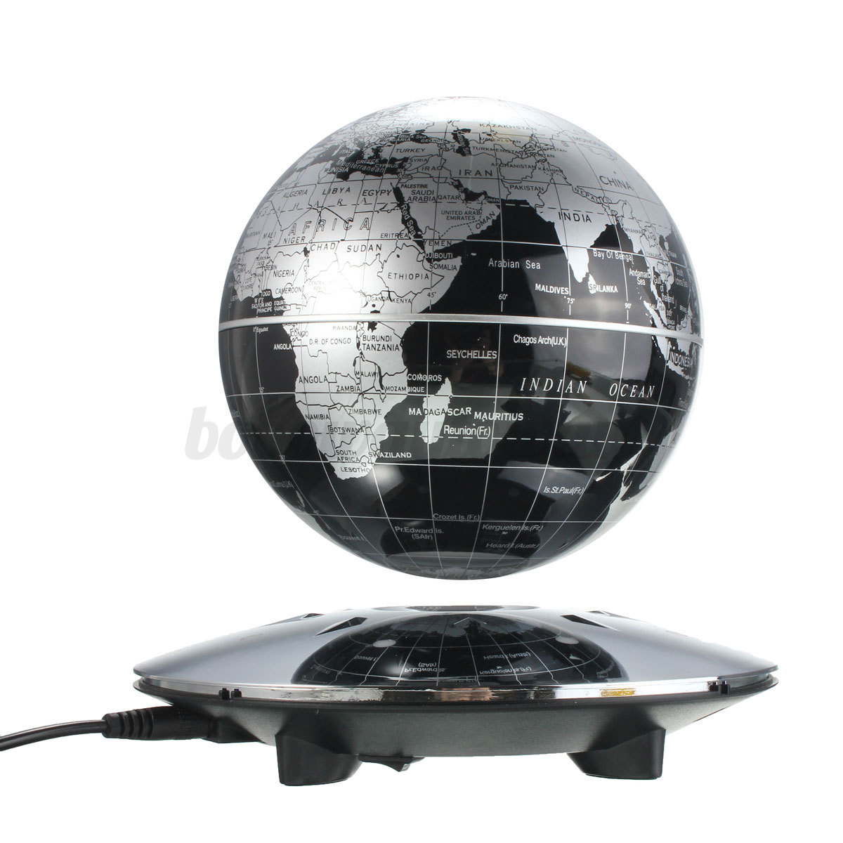 educational globe terrestre maglev flottant mappemonde led. Black Bedroom Furniture Sets. Home Design Ideas