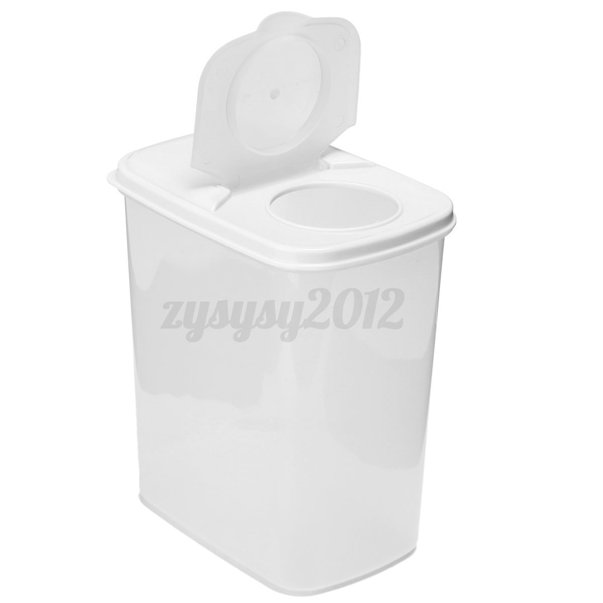 Food Container Storage Bottle Plastic Kitchen Spice Jar Cereal Bean With Lid Ebay