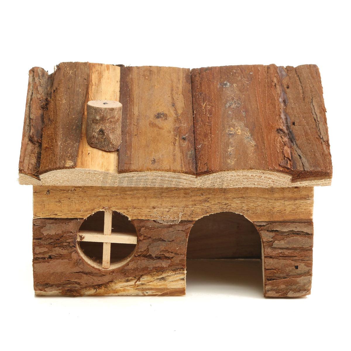jouet cage maison cabane bois pour hamster gerbilles souris lapin rat exercice ebay. Black Bedroom Furniture Sets. Home Design Ideas