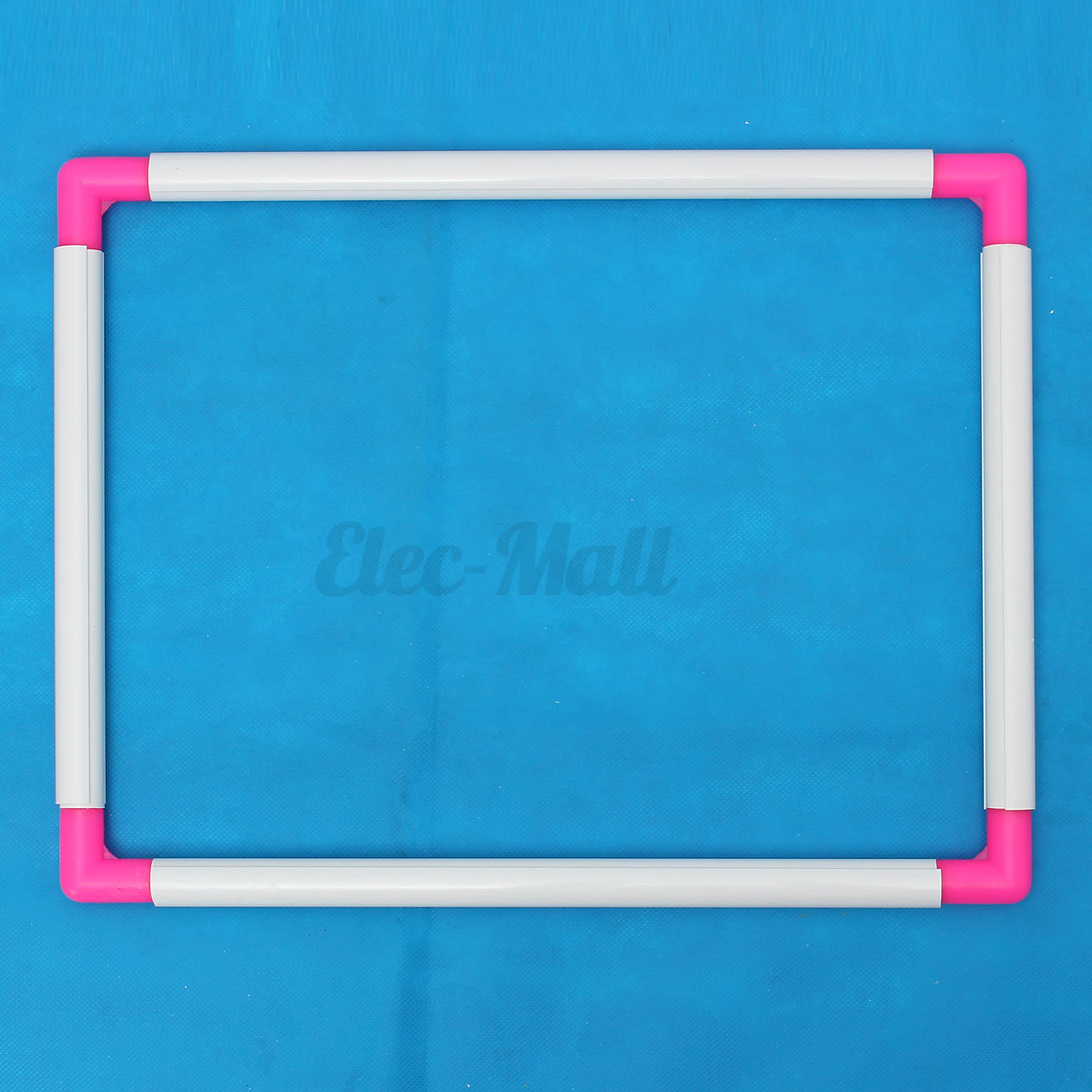 Size plastic rectangle embroidery frame sit on cross