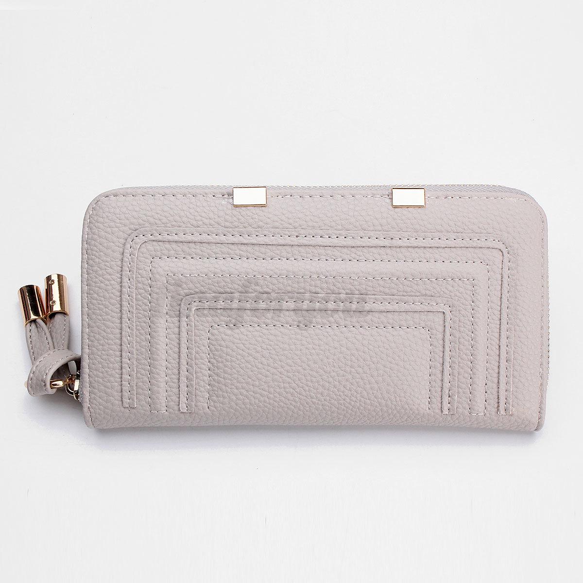 Fashion Women Clutch Leather Wallet Long Card Holder Purse Handbag Coin bag NEW