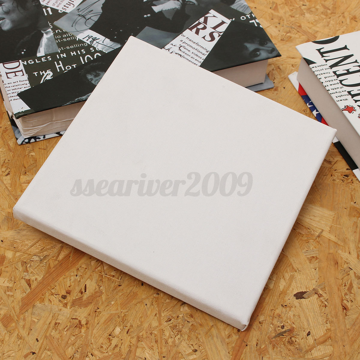 Blank cotton canvas panels mounted art artist boards for Canvas painting supplies