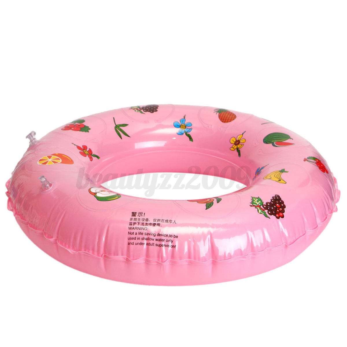 Inflatable Colored Swim Ring Kids Children Baby Summer Beach Swimming Pool Toy Ebay