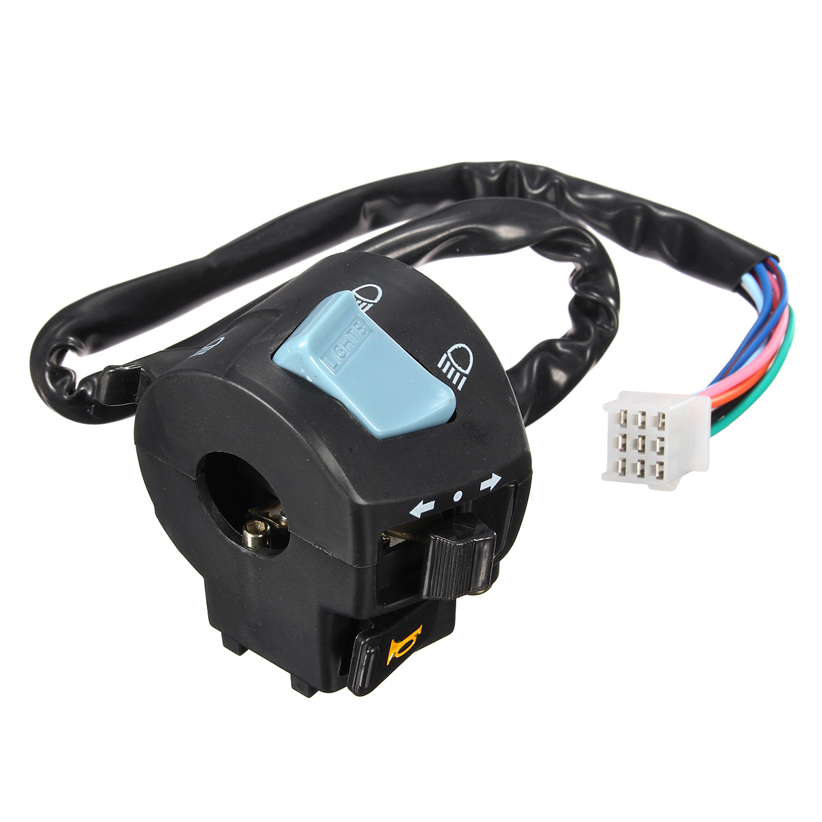 Light Controller For Motorcycles: Universal 7 8'' Motorcycle Handlebar Horn Turn Signal