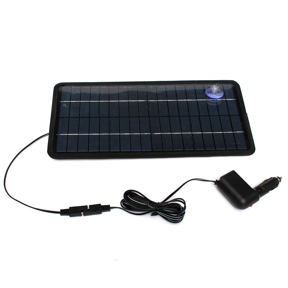 12v 8 5w panneau solaire charge soleil chargeur batterie. Black Bedroom Furniture Sets. Home Design Ideas