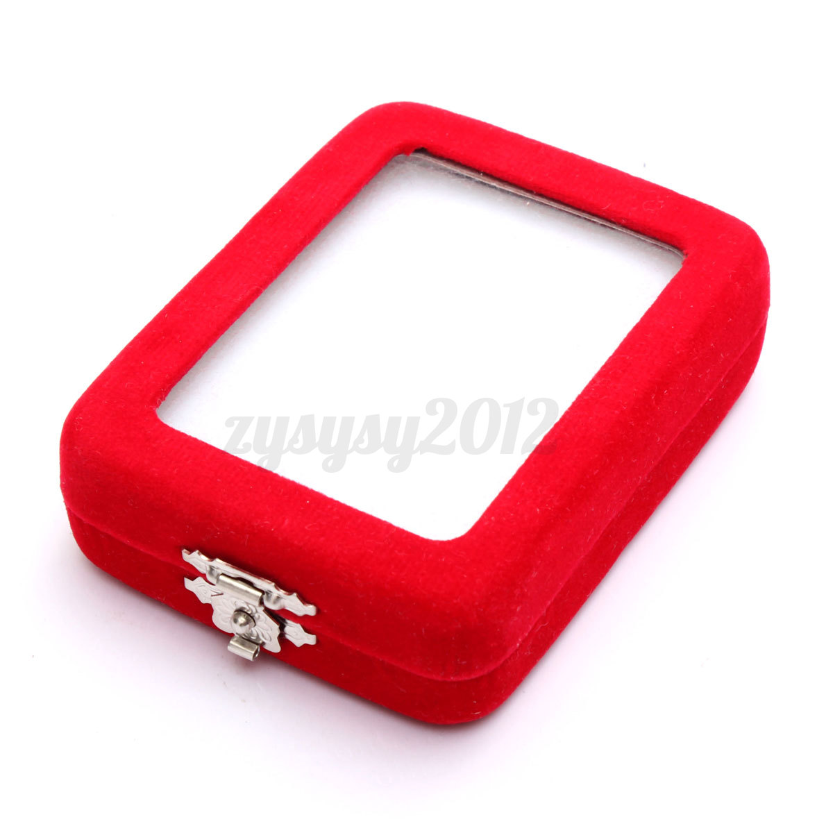 Uk luxury velvet jewelry box ring necklace bracelet case for Ring case