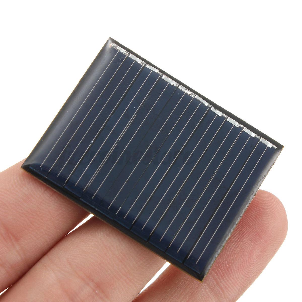 1 3 5 4 5 6 9 12v mini solar panel module for light. Black Bedroom Furniture Sets. Home Design Ideas