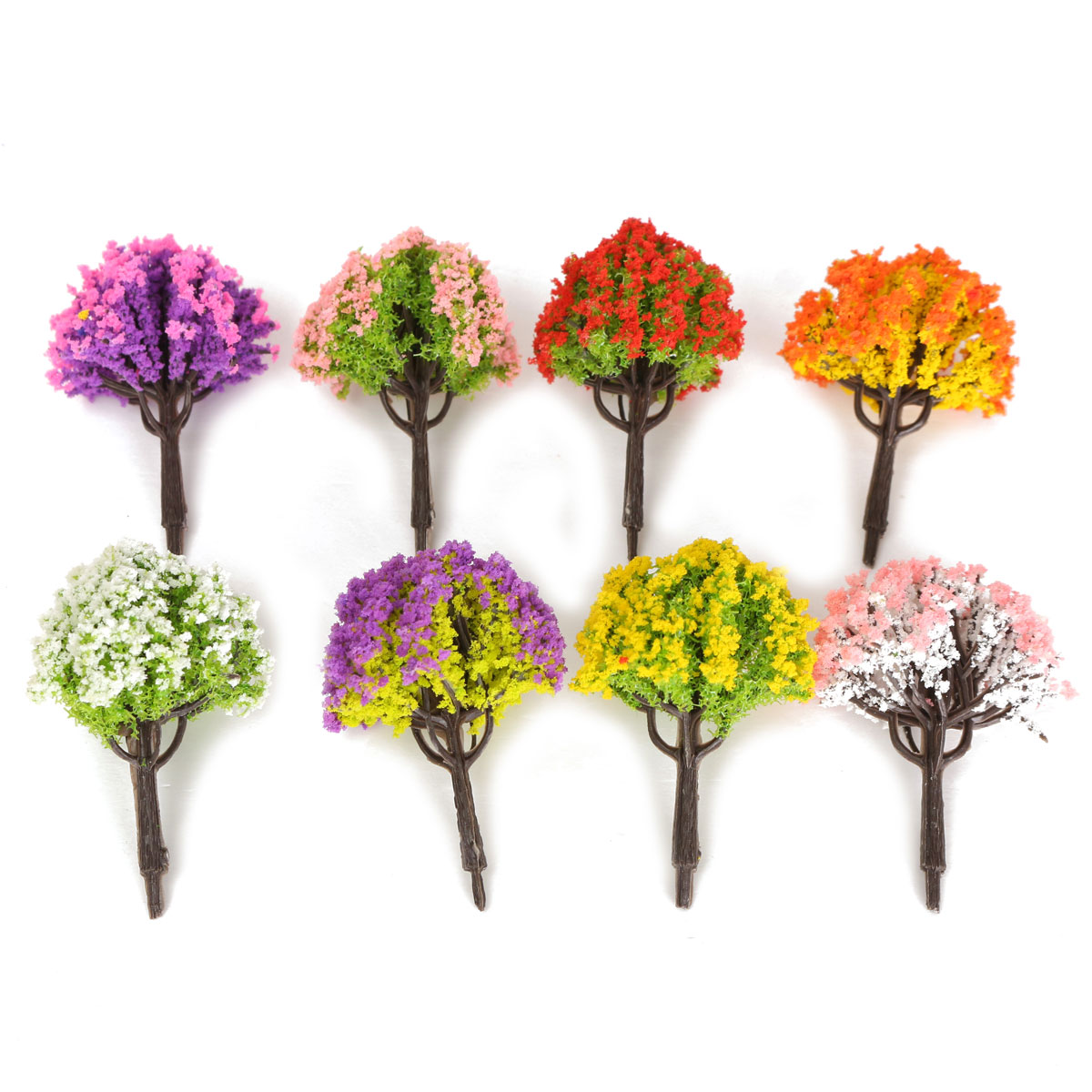 1 2x diy miniature tree plants fairy garden accessories - Garden decor accessories ...