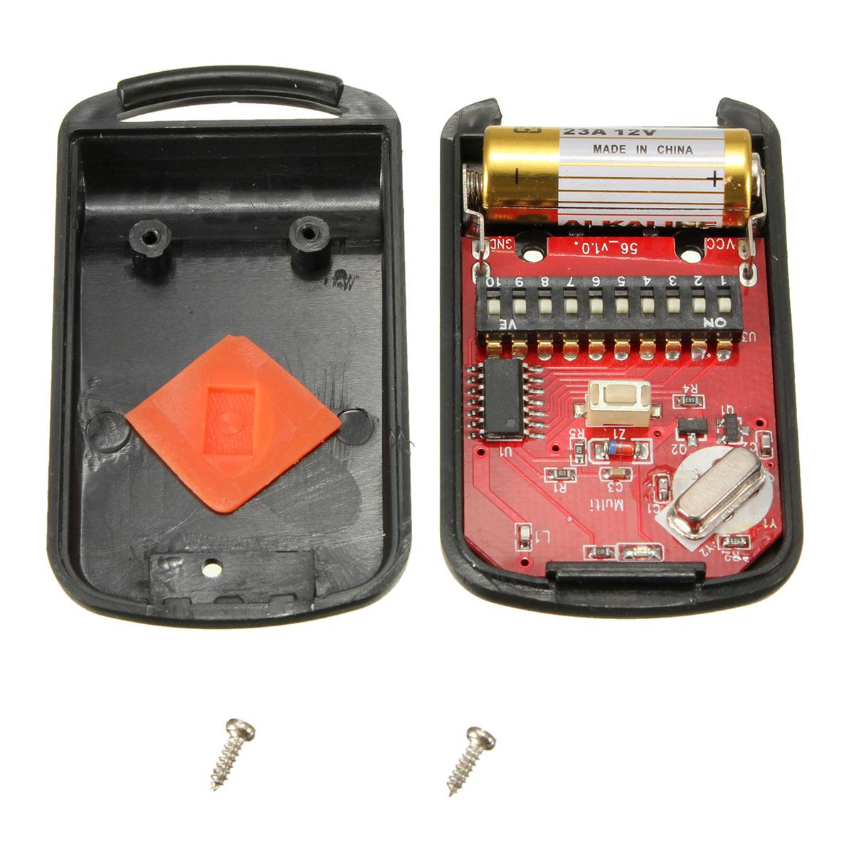 Mini remote garage transmitter for multicode 3060 300mhz for 12v garage door opener remote
