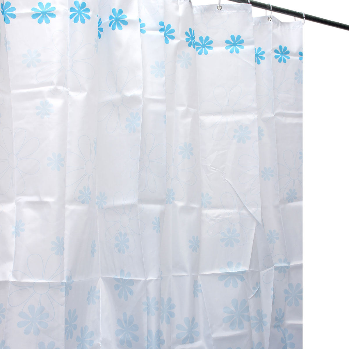 10 Style 4size Polyester Fibre Waterproof Bathroom Shower Curtain W Hooks Set Ebay