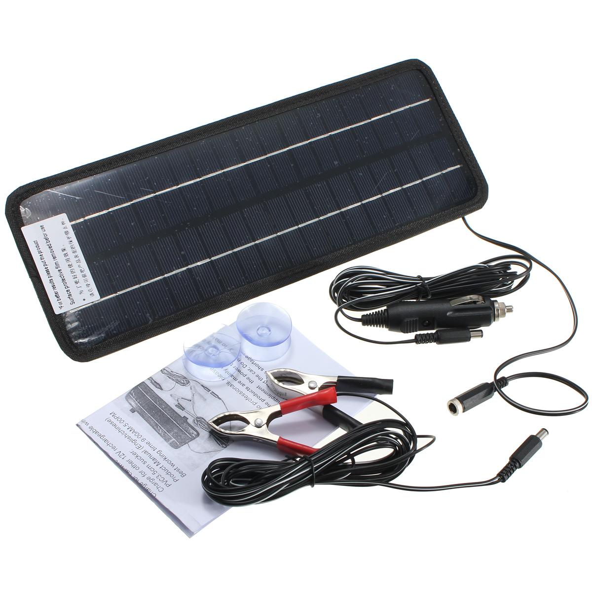 12v 4 5w solarpanel solarmodul photovoltaik solarzelle batterie ladeger t auto ebay. Black Bedroom Furniture Sets. Home Design Ideas