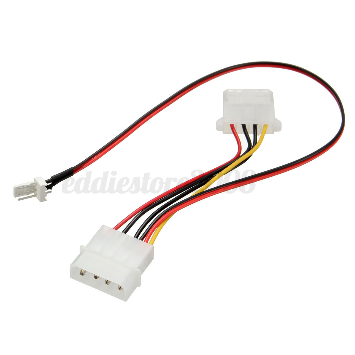 Power Supply Cables : Sata computers pc hdd power supply connector adapter