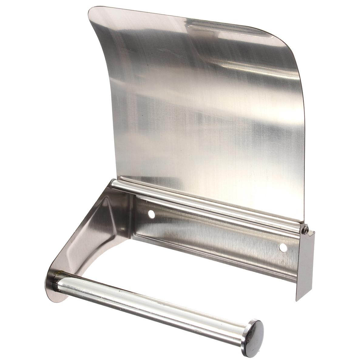 Stainless Steel Toilet Paper Roll Holder Tissue Bathroom
