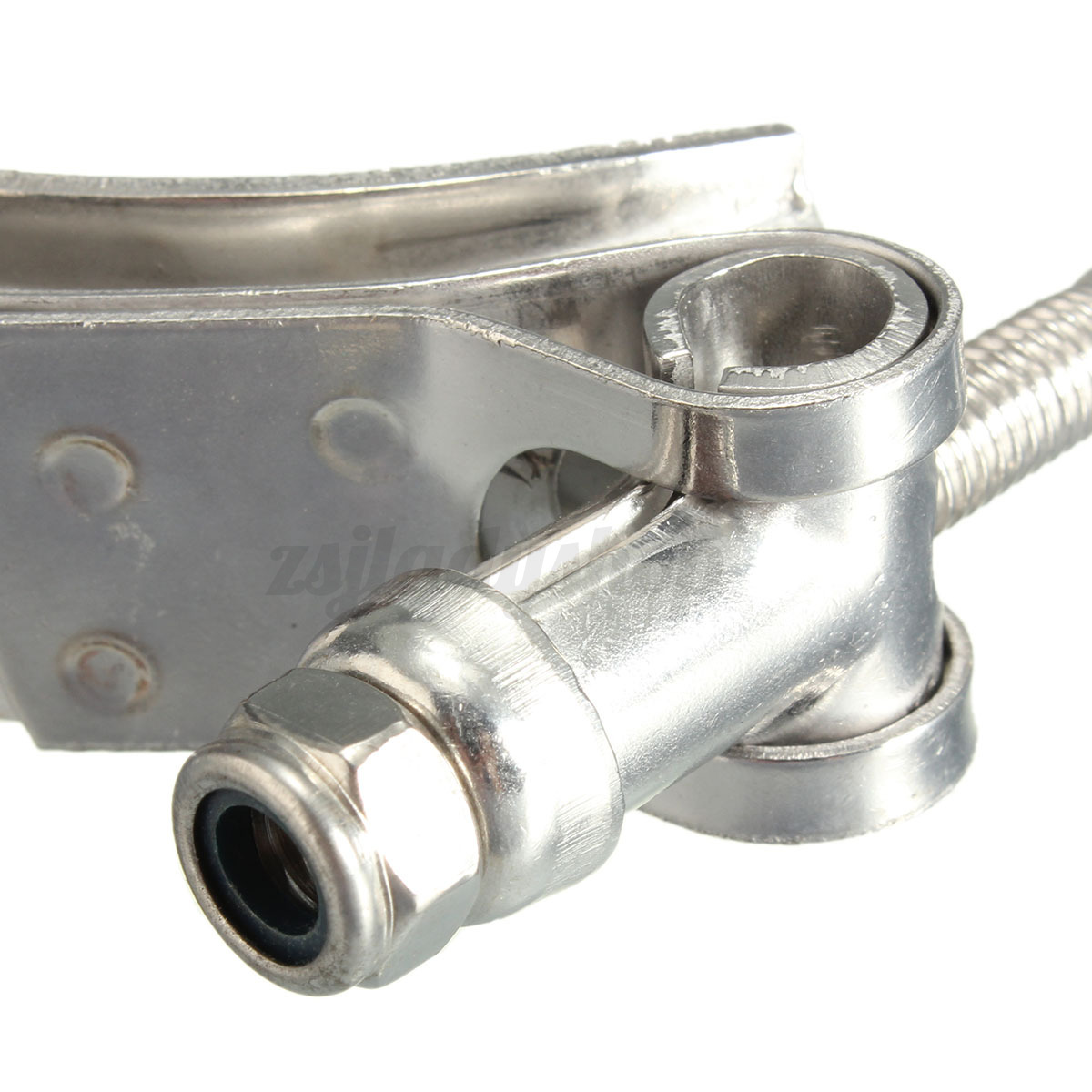 Turbo Exhaust Ring: 3'' Universal V-Band Downpipe Intercooler Turbo Exhaust