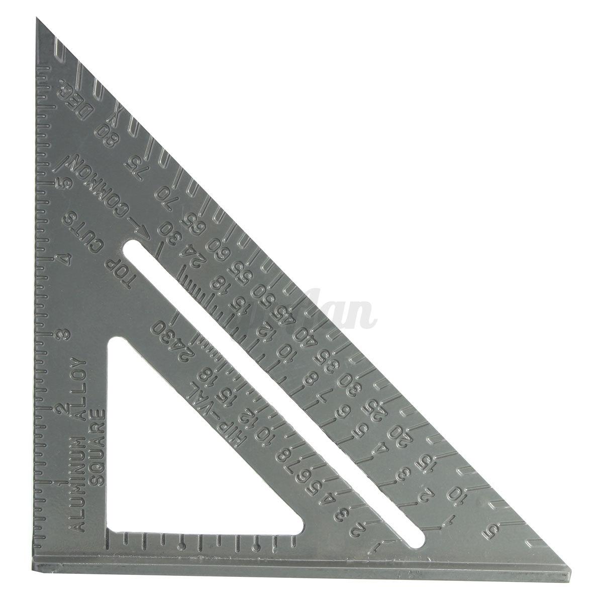 6 Aluminum Metal Square Protractor Miter Framing