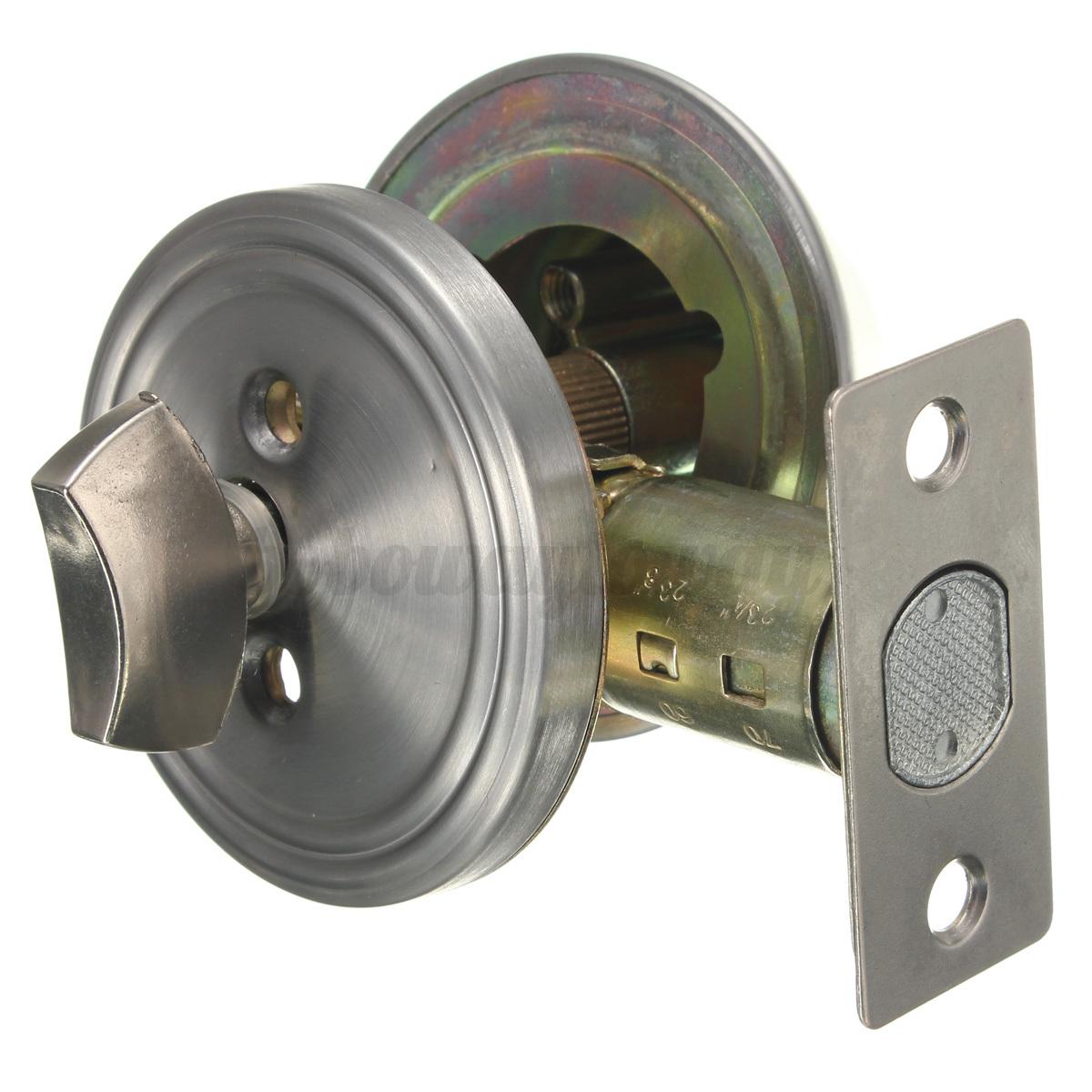 Deadbolt additional door cylinder lock rim dead bolt night for Door bolt lock