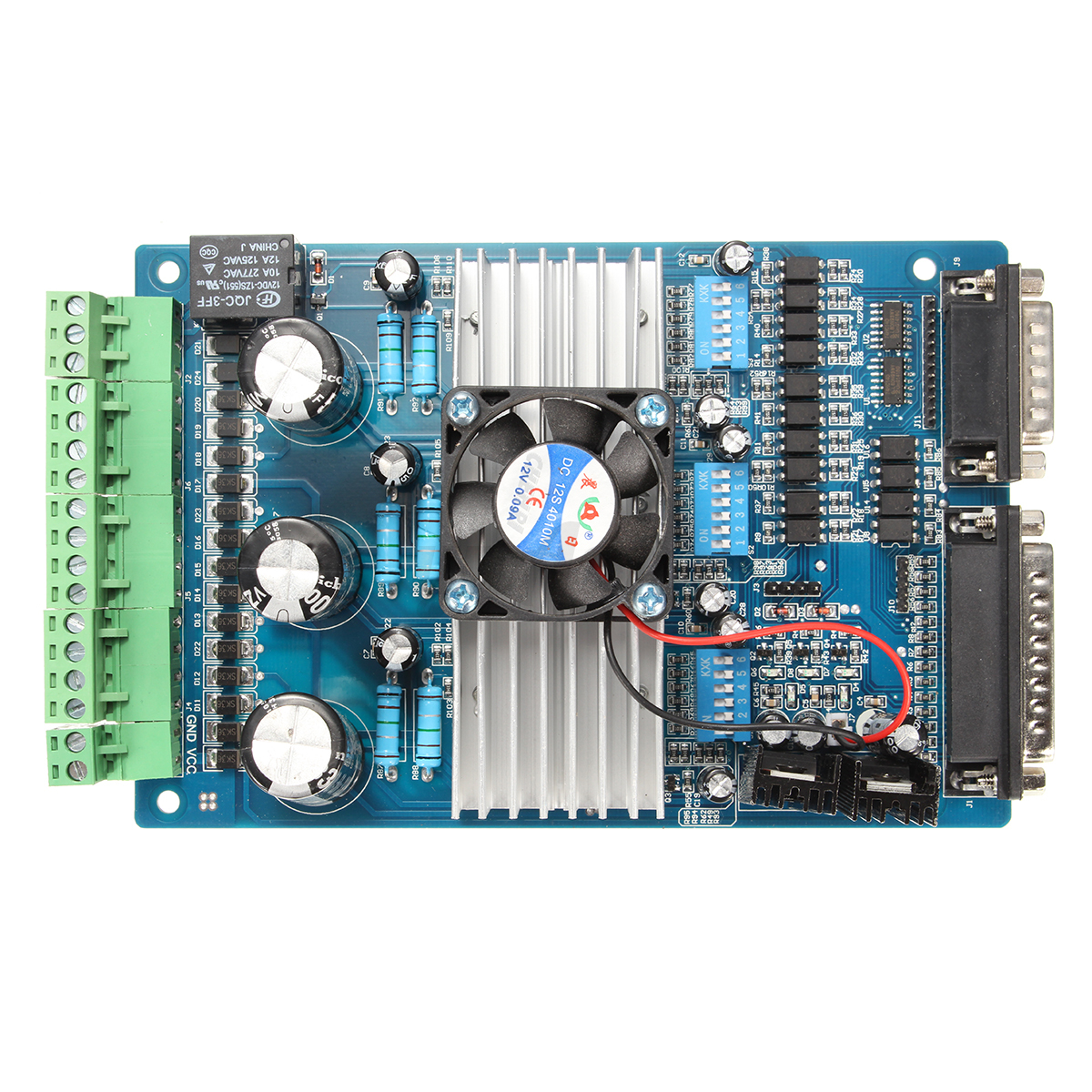 Cnc 3 axis tb6560 stepper motor driver controller board for Tb6560 stepper motor driver manual