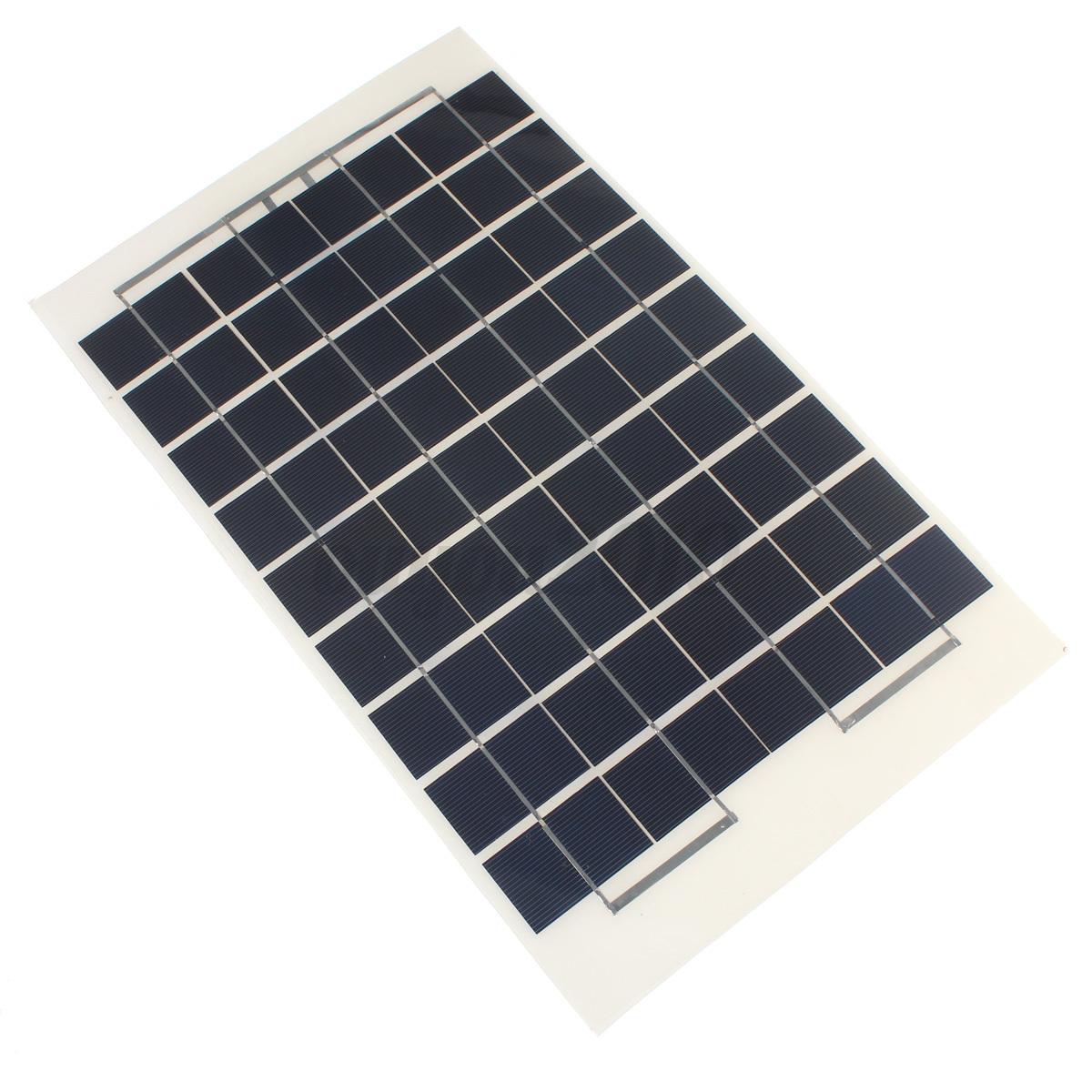 10w 12v cellules module panneau solaire chargeur batterie pour voiture moto diy ebay - Panneau solaire quelle puissance ...
