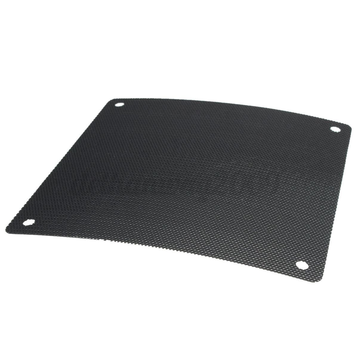 2pcs cuttable pvc pc fan dust air filter dustproof computer case mesh 120x120mm ebay. Black Bedroom Furniture Sets. Home Design Ideas