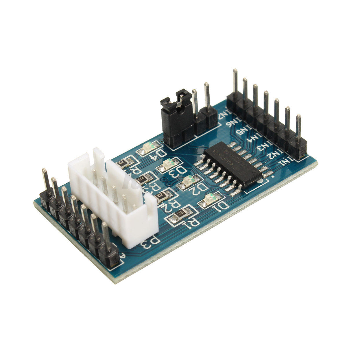 Uln driver module dc stepper motor test board for v