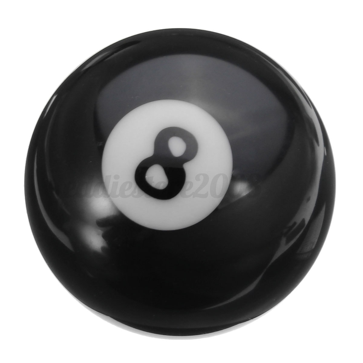 New 1pcs 8 billiard pool ball replacement part black eight ball 2 1 4 ebay - 8 ball pictures ...