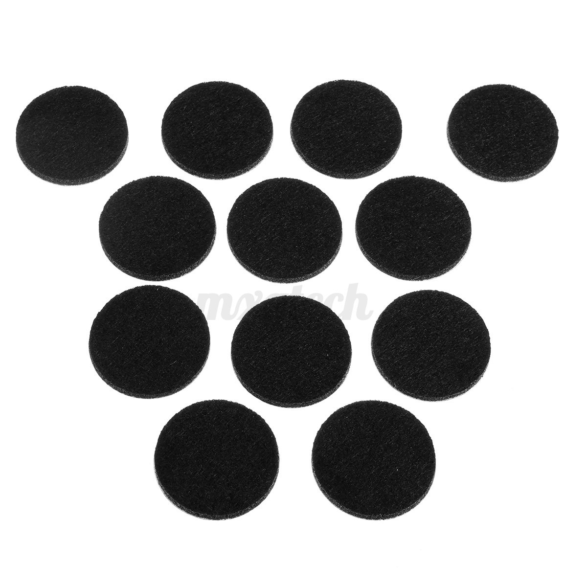 12Pcs Round Self Adhesive Furniture Felt Pads Protector