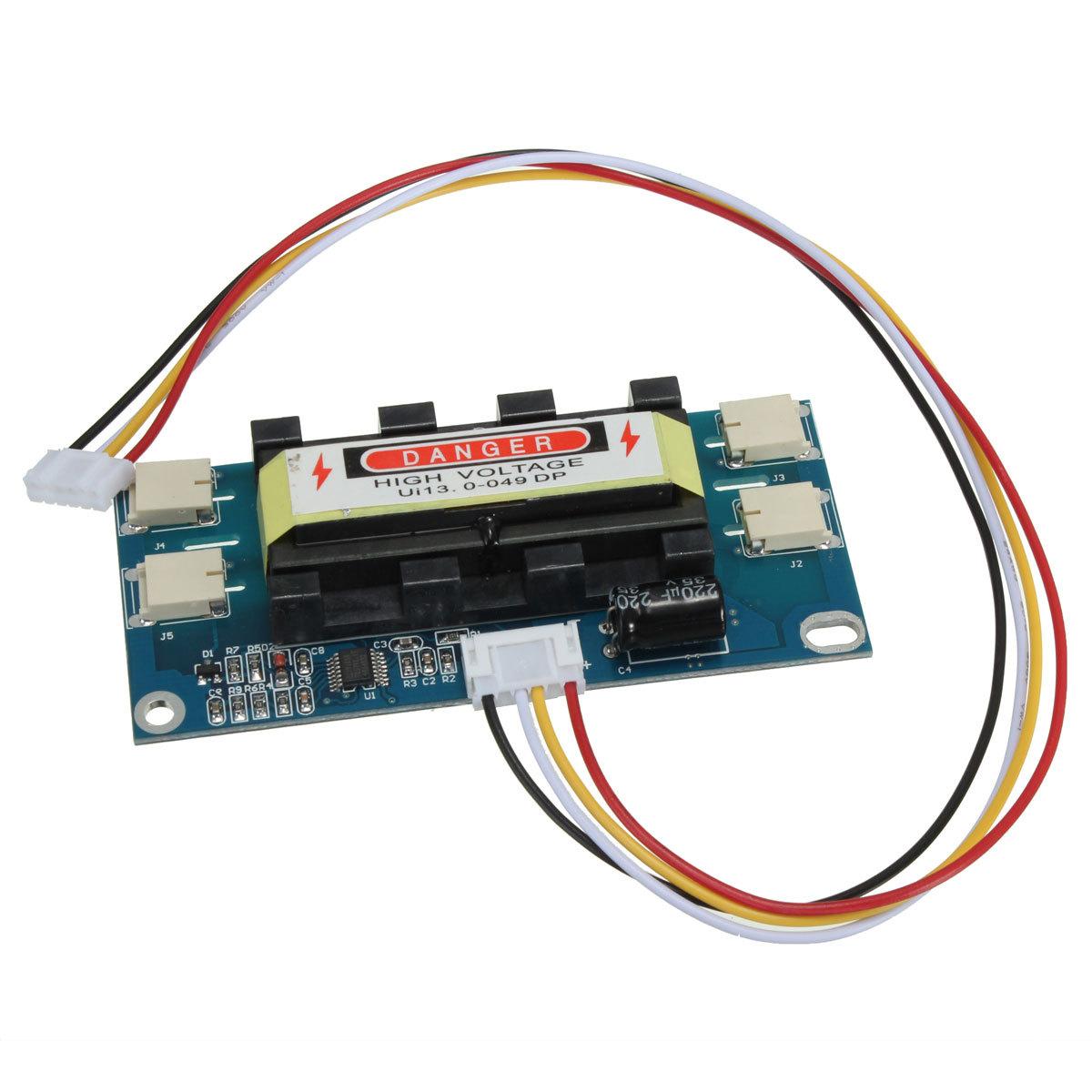 4 Lamp Backlight Universal Laptop LCD CCFL Inverter 10-30V ...