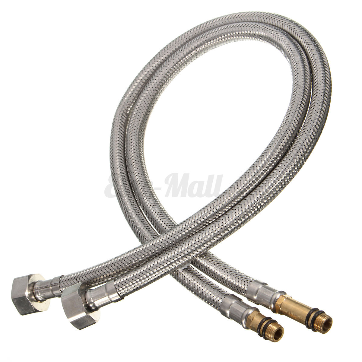 2PCS Stainless Steel Flexible 1/2\