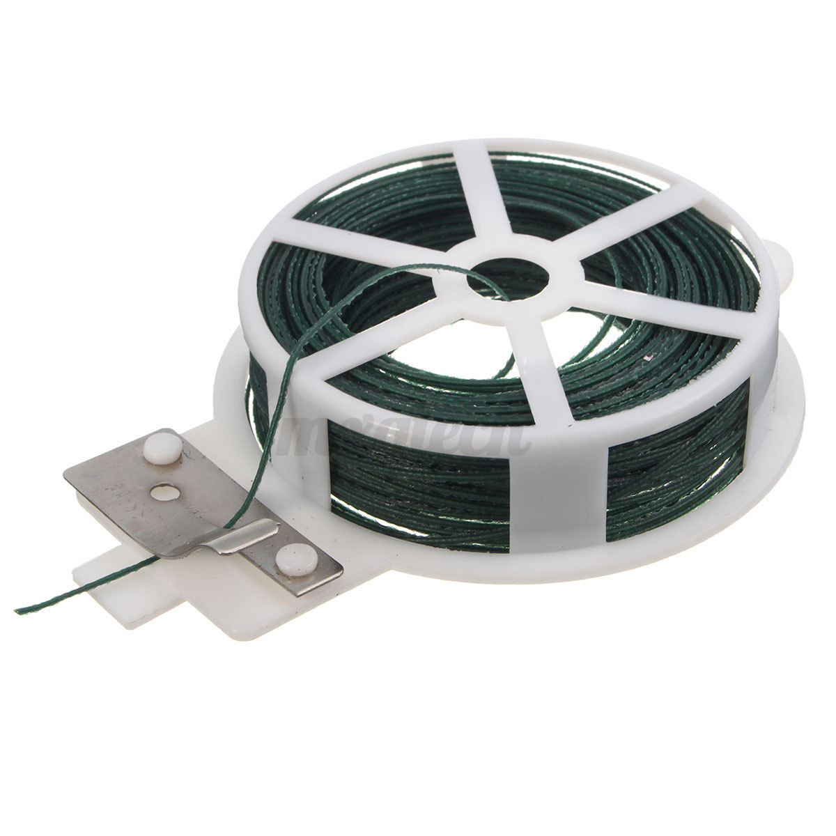 Cable Twist Tie : M roll wire twist ties green garden cable plastic