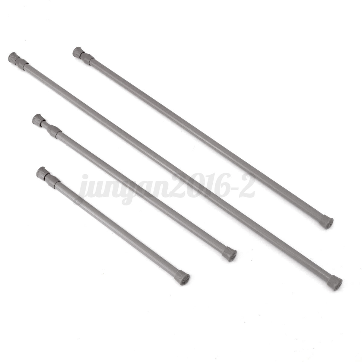 30 120cm spring extendable curtain rail pole telescopic