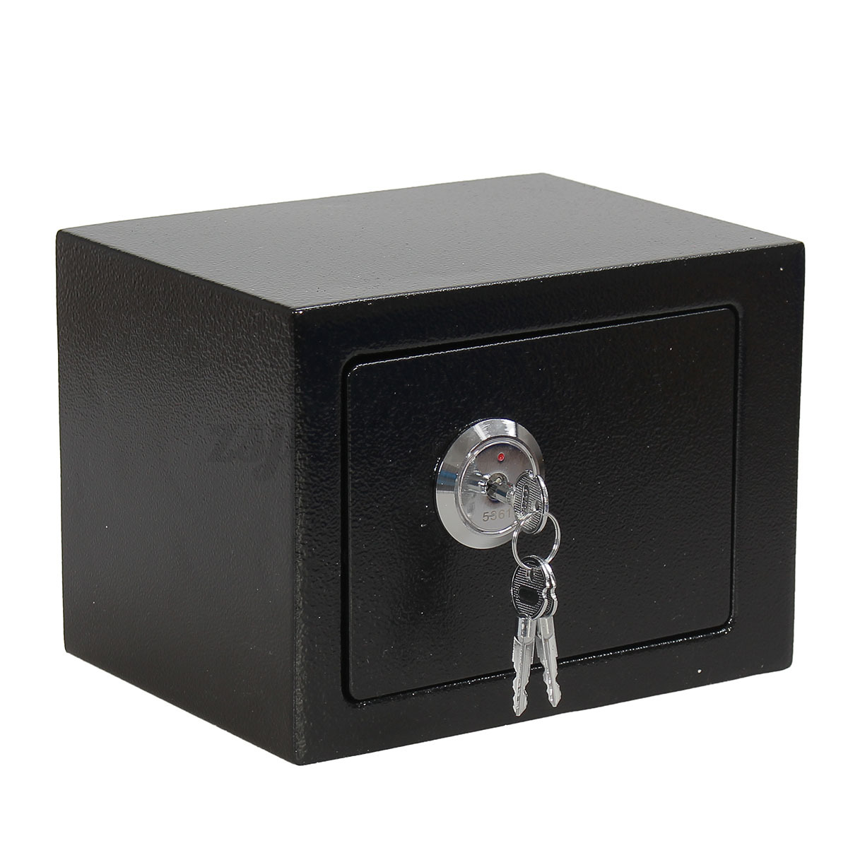 Strong iron steel key operated security money cash safe for Home money box