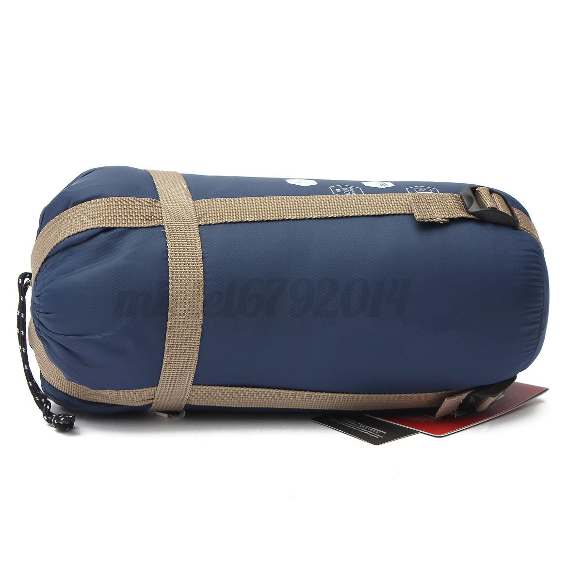 sac de couchage protable compression etanche arm l ger camping randonn e voyage. Black Bedroom Furniture Sets. Home Design Ideas