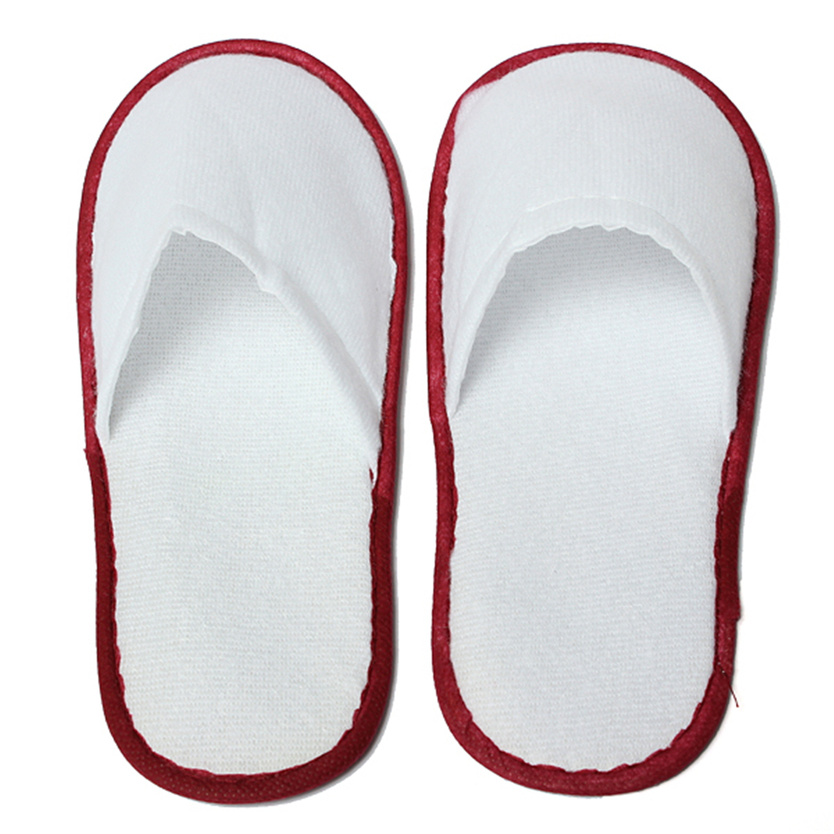 white towelling disposable slippers terry spa guest